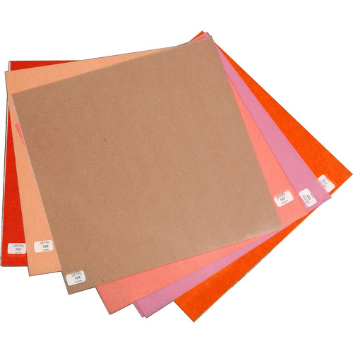 """LEE Filters Cosmetic Filter Lighting Pack - 12 Sheets (10 x 12"""")"""
