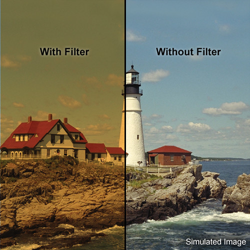 """LEE Filters 4x4"""" Coral 11 Warming Resin Filter"""