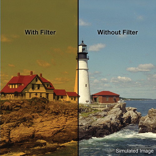 """LEE Filters 4x4"""" Coral 13 Warming Resin Filter"""