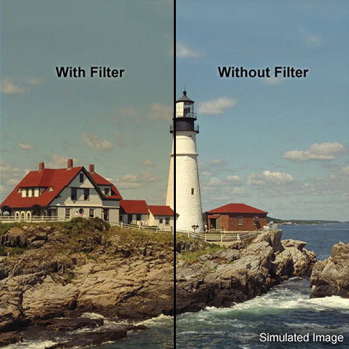 """LEE Filters 4x4"""" Coral 3 Warming Resin Filter"""