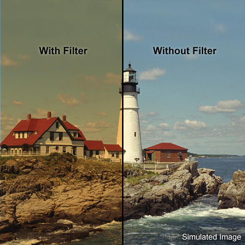 """LEE Filters 4x4"""" Coral 8 Warming Resin Filter"""