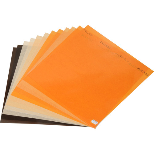 """LEE Filters Daylight to Tungsten Filter Lighting Pack, 12 Sheets (10 x 12"""")"""