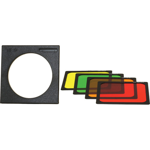 "LEE Filters 4x4"" Black & White Polyester Filter Set"