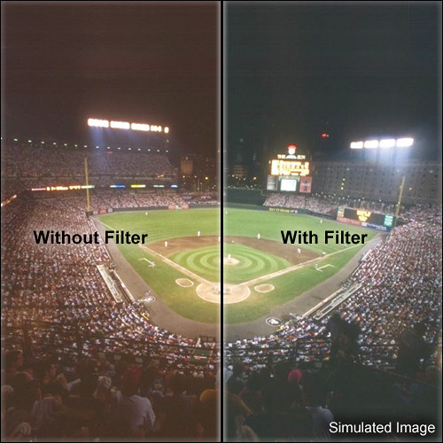 """LEE Filters 3x3"""" High Pressure Sodium Daylight Polyester Filter"""