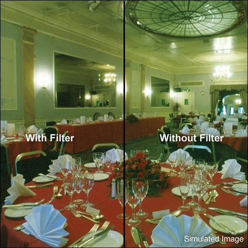 "LEE Filters 4 x 4"" Magenta  - 025M - Color Compensating 25 Resin Filter"