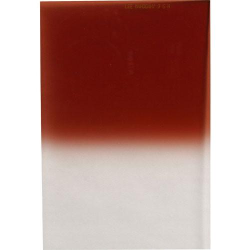 LEE Filters 100 x 150mm Hard-Edge Graduated Mahogany 1 Filter