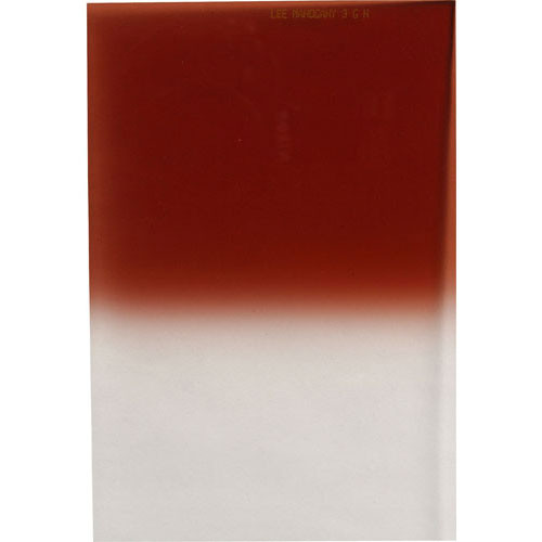LEE Filters 100 x 150mm Hard-Edge Graduated Mahogany 2 Filter