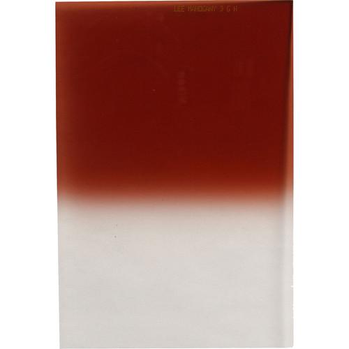LEE Filters 100 x 150mm Hard-Edge Graduated Mahogany 3 Filter