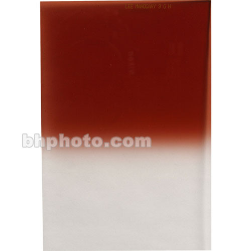 LEE Filters 100 x 150mm Soft-Edge Graduated Mahogany 3 Filter