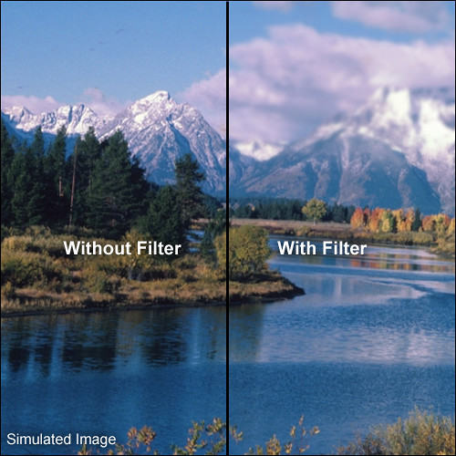"LEE Filters 4x6"" Graduated Mist Resin Filter"