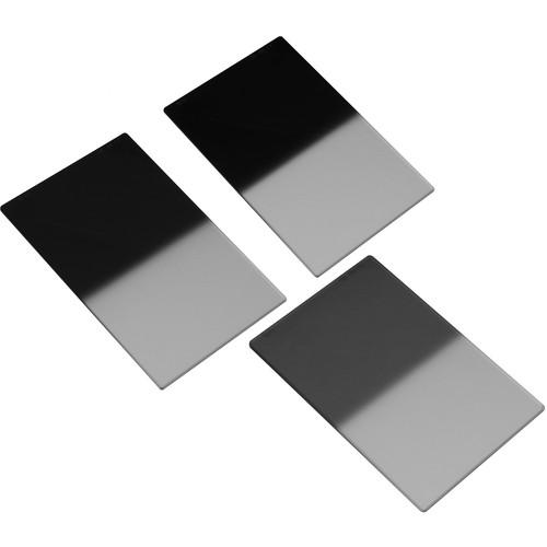 "LEE Filters 4x6"" Hard-Edge Graduated ND Resin Filter Set (0.3, 0.6, 0.9)"