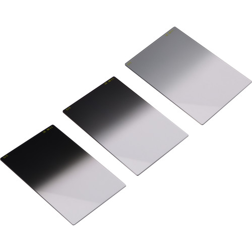 "LEE Filters Graduated Neutral Density Soft Filter Set 4 x 6"" - Consists of Three Graduated ND (Neutral Density) Filters (.3, .6, .9) - Soft Transition"