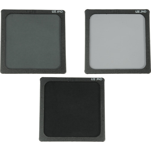 "LEE Filters 4x4"" Neutral Density Polyester Filter Set (0.3, 0.6, & 0.9)"