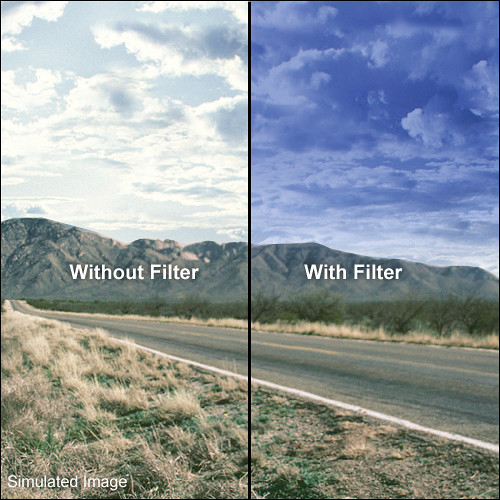 LEE Filters 100 x 150mm Hard-Edge Graduated Pop Blue Filter