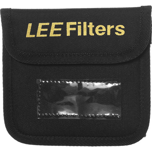 """LEE Filters Filter Pouch for 4 x 4"""" Filter (Black)"""
