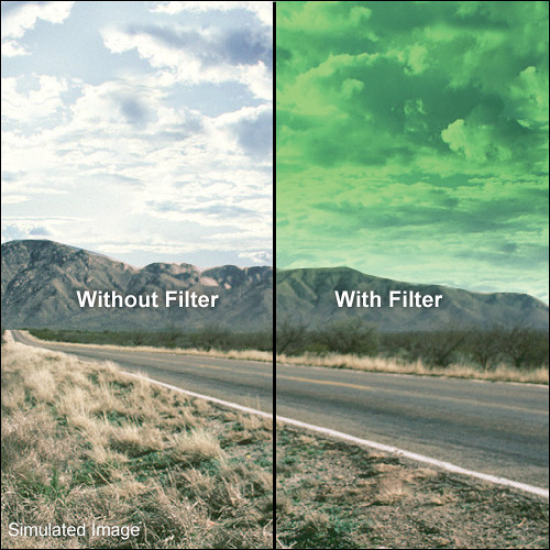 LEE Filters 100 x 150mm Hard-Edge Graduated Pop Green Filter