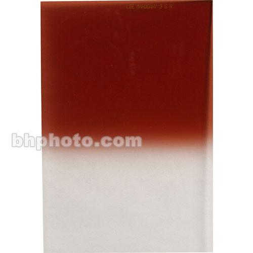 LEE Filters 84 x 100mm Hard-Edge Graduated Mahogany Filter
