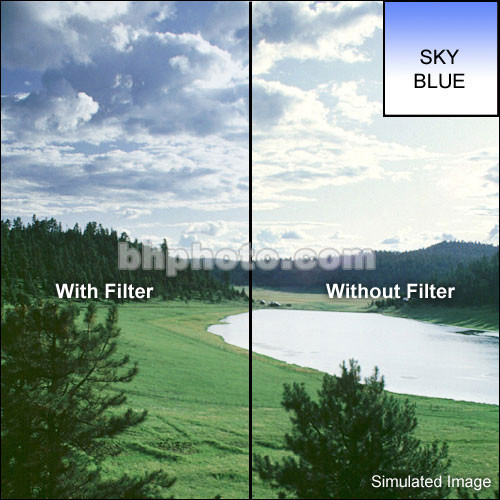 LEE Filters 84 x 100mm Soft-Edge Graduated Sky Blue Filter