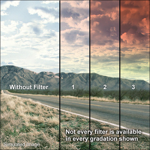LEE Filters 100 x 150mm Soft-Edge Graduated Sunset 1 Filter