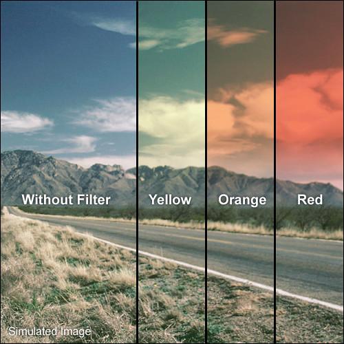 LEE Filters 100 x 150mm Hard-Edge Graduated Sunset Orange Filter