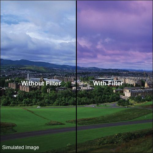 LEE Filters 100 x 150mm Hard-Edge Graduated Twilight Filter