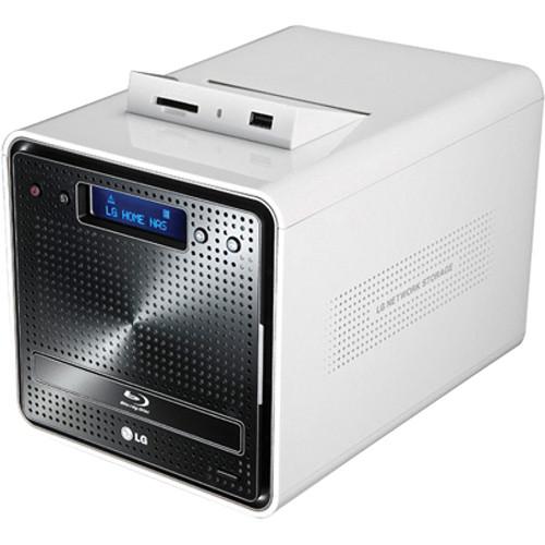 LG N2B1DD2 2TB Super Multi NAS with Blu-ray Re-Writer