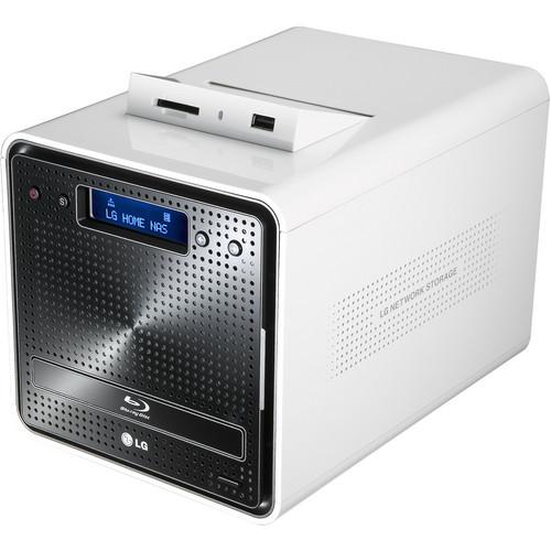 LG N2B1D Super Multi NAS Enclosure with Blu-ray Re-Writer