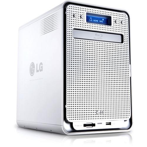 LG N4B2N Super Multi NAS Enclosure with Blu-ray Re-Writer