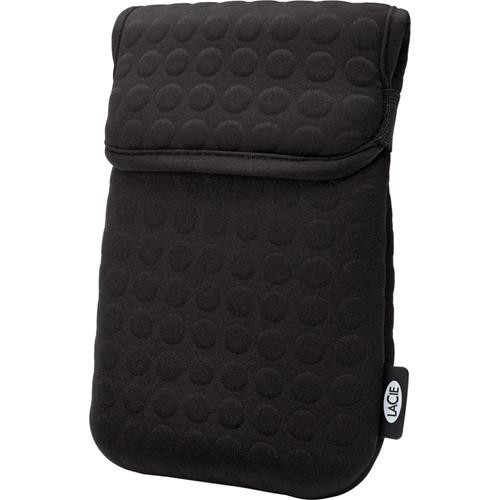 "LaCie Coat Hard Drive Case for 2.5"" Drive (Black)"