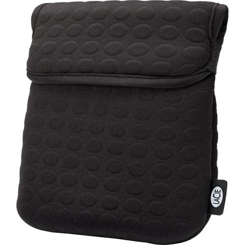 """LaCie Coat Case for 3.5"""" Hard Drive, 10"""" Netbook, or iPad (Black)"""