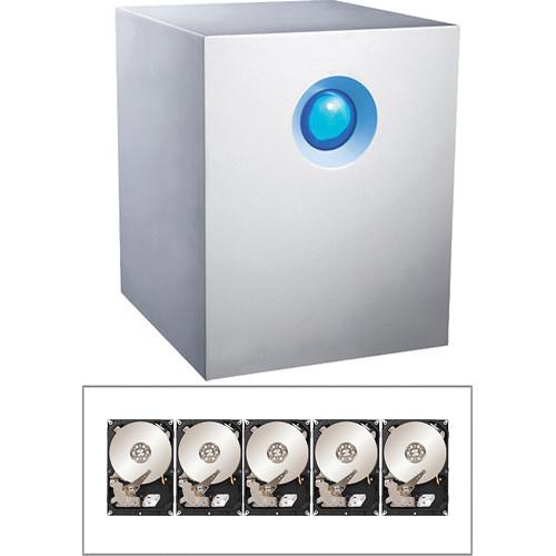 LaCie 15TB (5x3TB 7200rpm) 5big Network 2 5-Bay RAID Server Kit