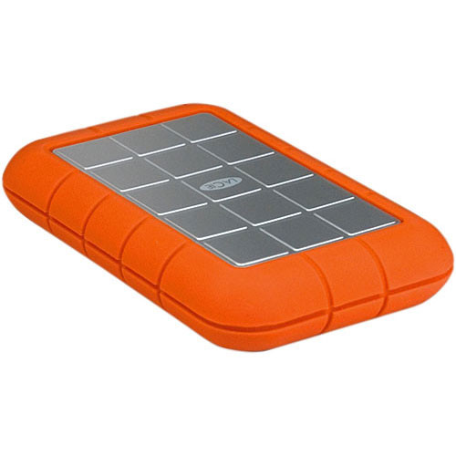 LaCie 500GB Rugged Triple Interface Portable Hard Drive