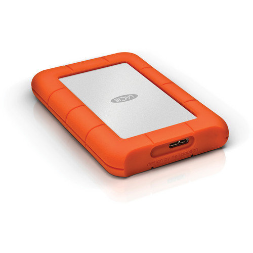 LaCie 500GB Rugged Mini Portable Hard Drive