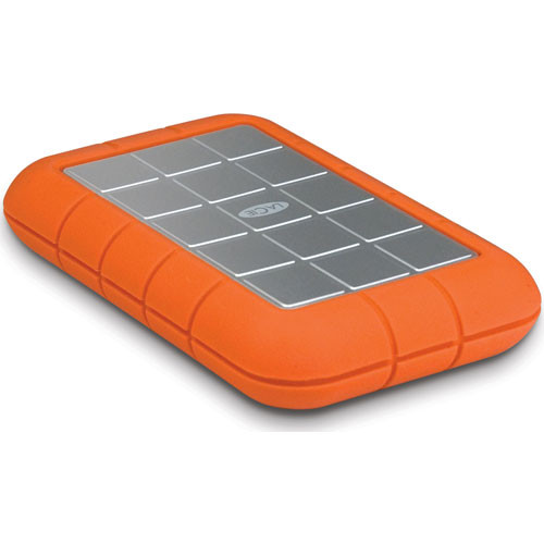 LaCie 320GB Rugged Triple Interface Portable Hard Drive