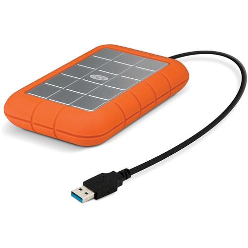 LaCie 750GB Rugged USB 3.0 Portable Hard Drive