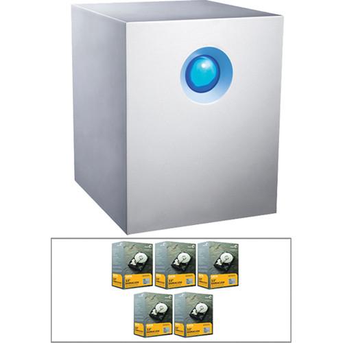 LaCie 5TB (5x1TB 7200rpm) 5big Network 2 5-Bay RAID Server Kit