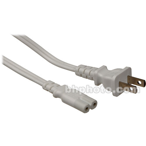LaCie AC Power Cord for Mini Hard Drive and Hub Power Supply (White)