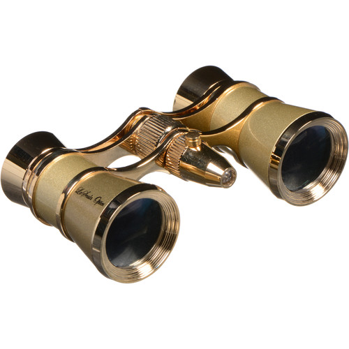 LaScala Optics 3x25 Aida Opera Glass (Titanium & Gold)
