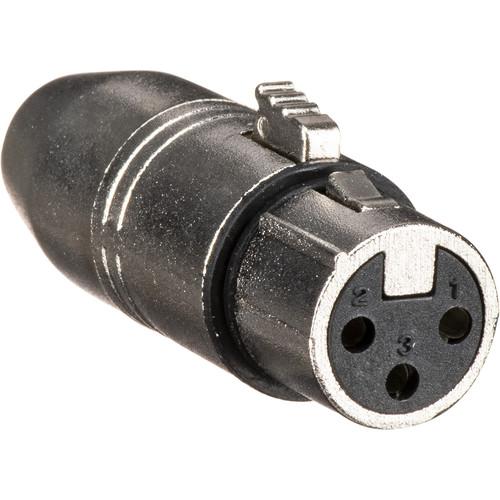 Laird Digital Cinema Premium 3-Pin Standard XLR Female to TA3M 3-Pin Mini XLR Male Audio Adapter