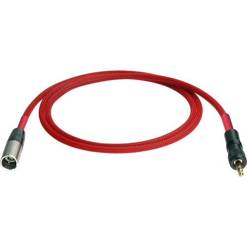 Laird Digital Cinema TA-3 (mini XLR) to 3.5mm Mini Plug for Red One Camera Audio Cable - 10'