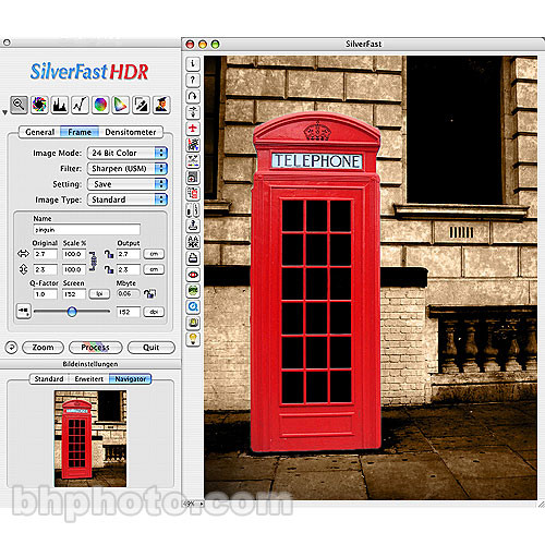 LaserSoft Imaging SilverFast HDR 6.0 Scan/Image Optimization Software