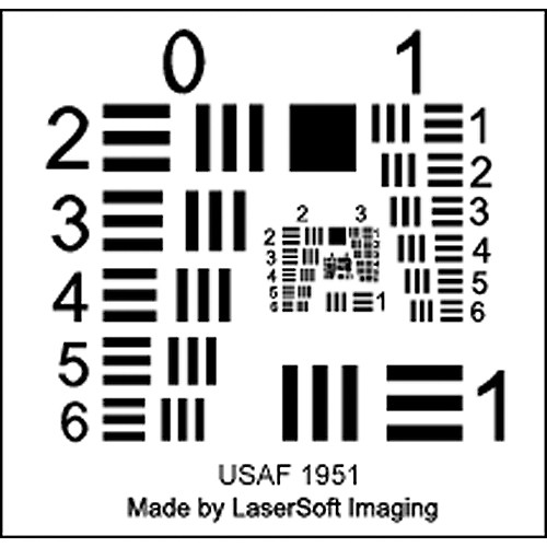 LaserSoft Imaging SilverFast Resolution Target