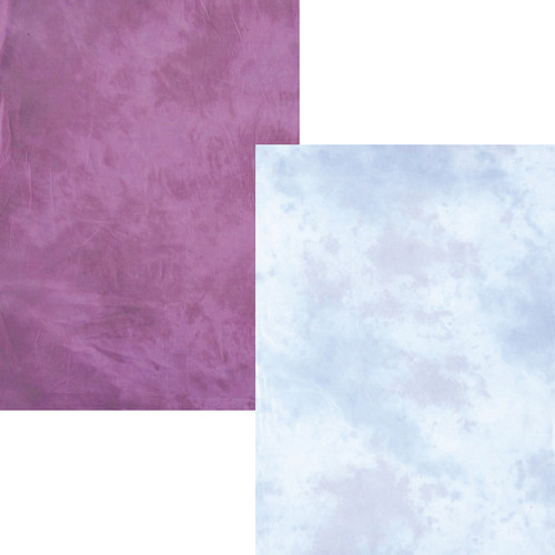 Lastolite 6x7' Collapsible Background - New York/Ohio - Purple, Blue, Grey