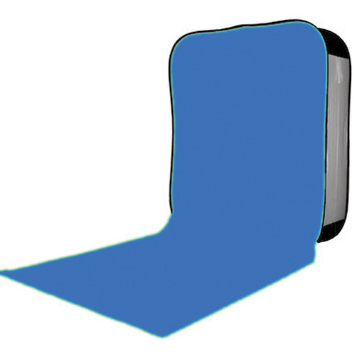 Lastolite HiLite Bottletop Cover with Train - 5x7' (Blue Chromakey)