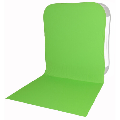 Lastolite HiLite Bottletop Cover with Train - 6x7' (Green Chromakey)