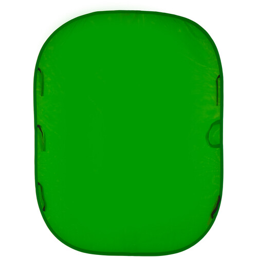 Lastolite Chromakey Collapsible Background - 6x7' - Green