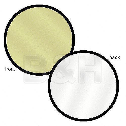 """Lastolite 12"""" Reflector - Sunfire/White"""