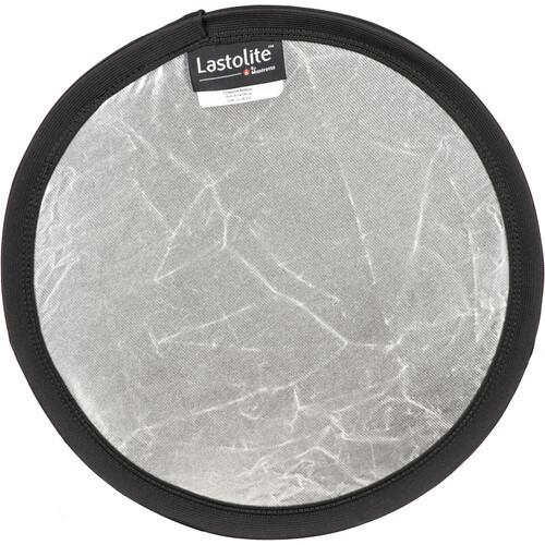 "Lastolite Collapsible Reflector - 12"" Circular - Silver/White"