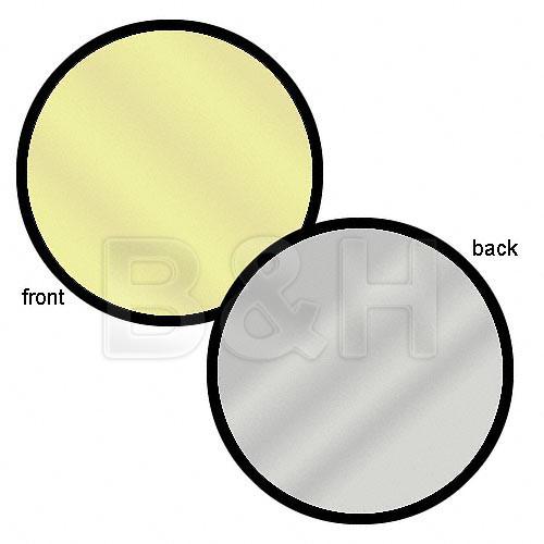 """Lastolite 12"""" Reflector - Sunfire/Silver"""