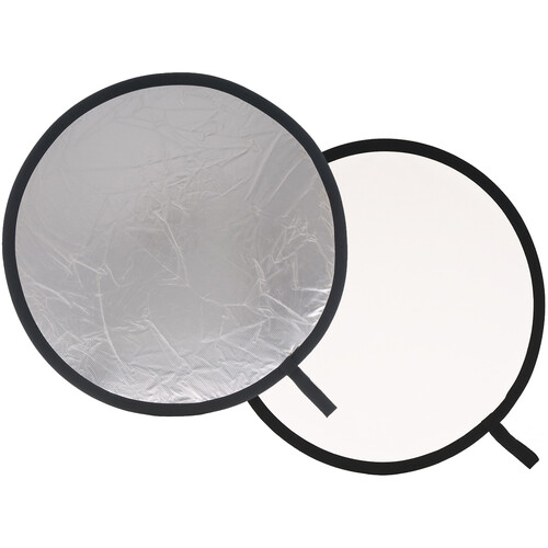 "Lastolite Collapsible Reflector (Silver/White, 20"")"